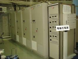 Power supplies  for magnets